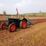 Tractor at Spring Working Day 2019